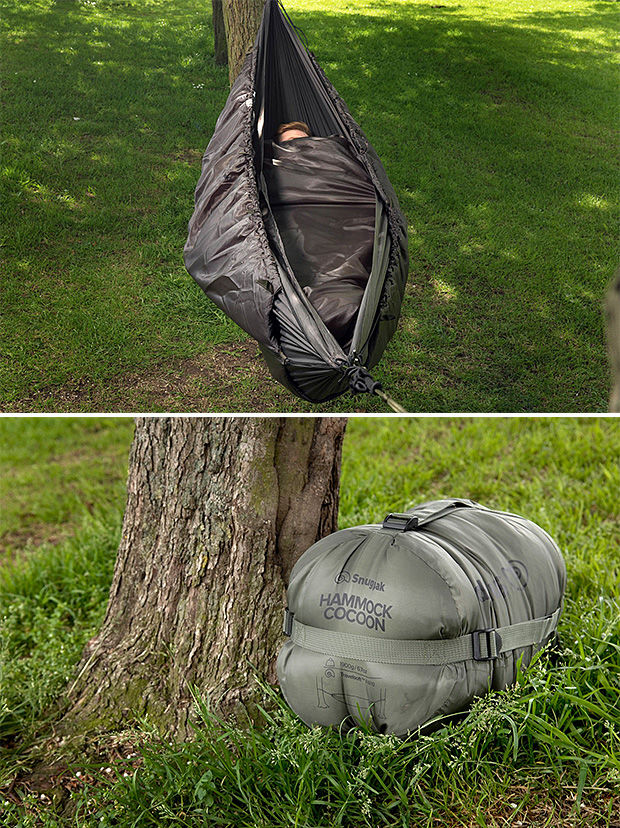 Suspended Cocoon Tents