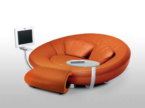 Oval Entertainment Sofas