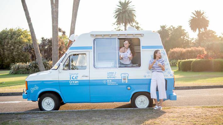 Vegan Ice Cream Trucks