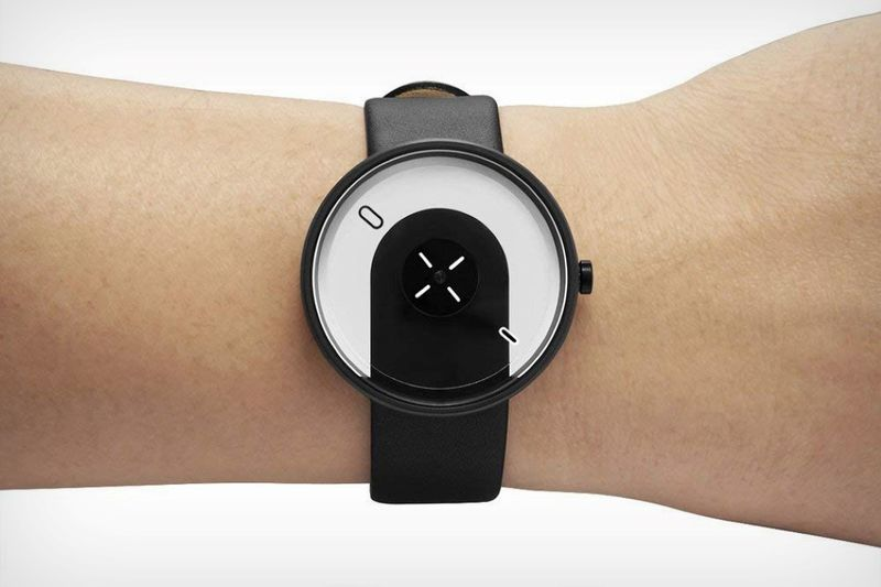 Overlapping Minimalist Timepieces