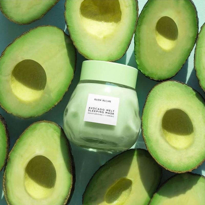 Avocado Overnight Masks