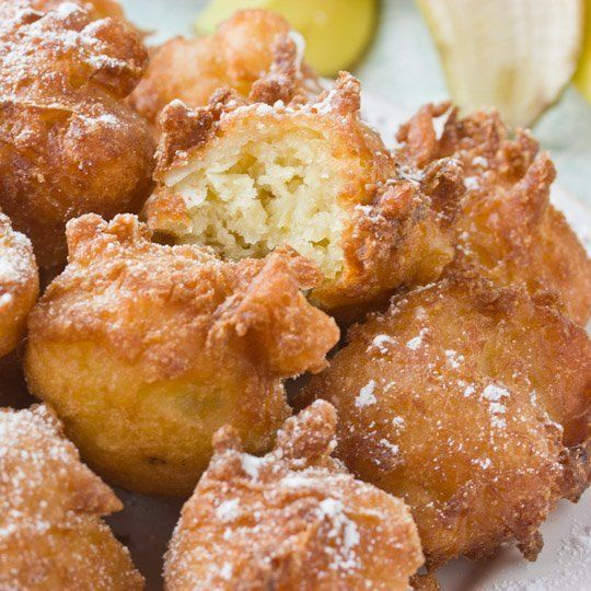 Tropical Banana Fritters