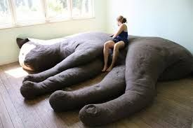 Oversized Feline Couches