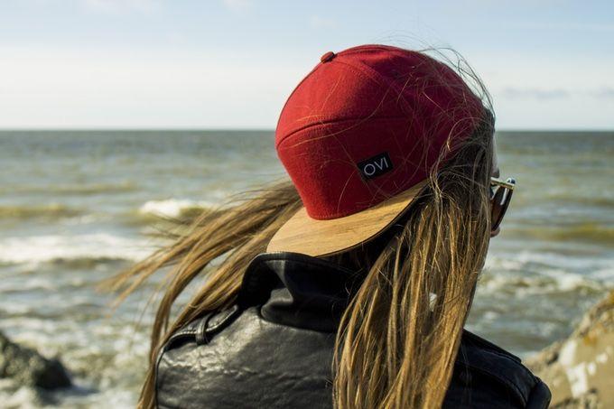 Wood-Brim Caps