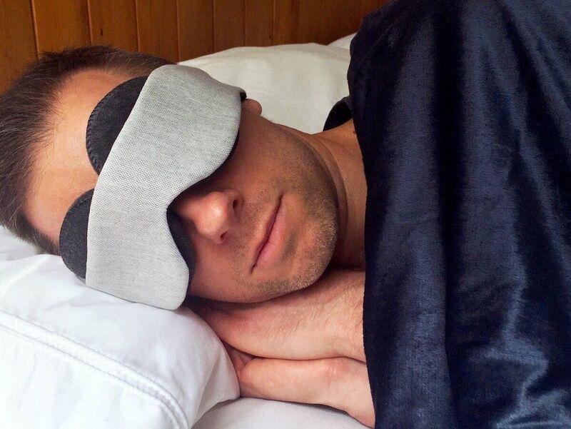 Hollow Interior Sleep Masks