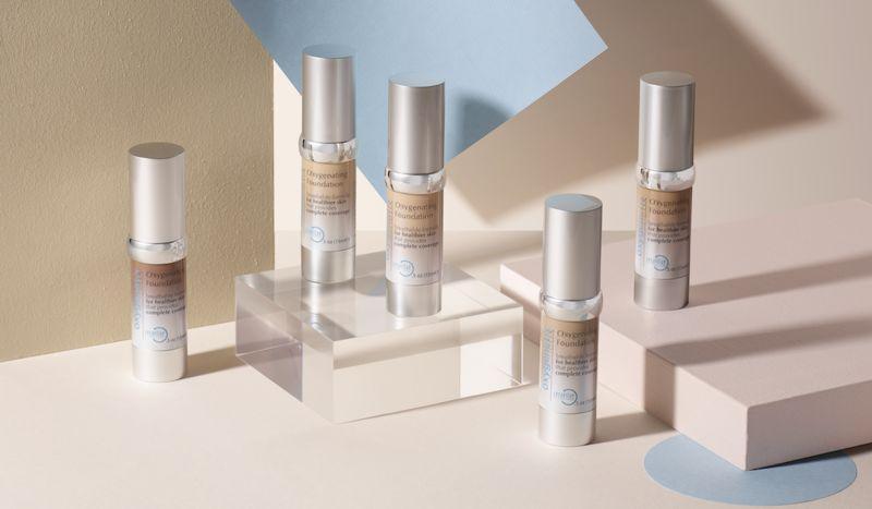 Oxygenating Makeup Foundations