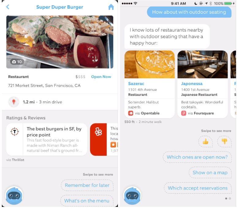Restaurant-Finding AI Bots