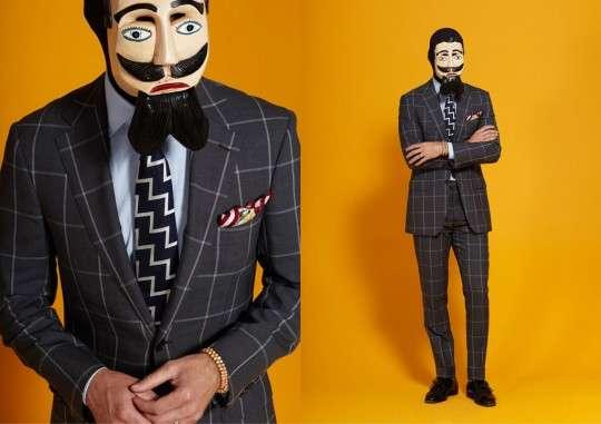 Masked Menswear Shoots