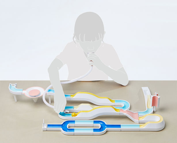 Gamified Lung-Training Equipment