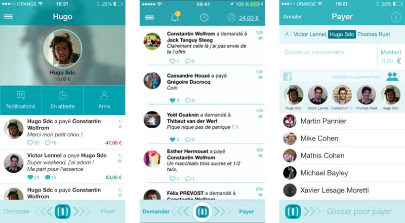 Social P2P Payment Apps : P2P Payment
