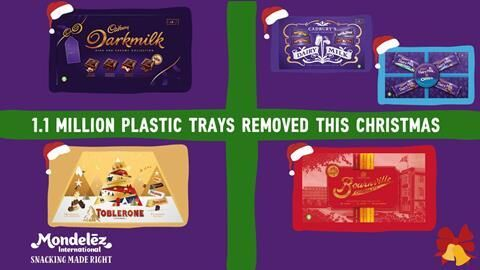 Reduced Plastic Candy Packaging