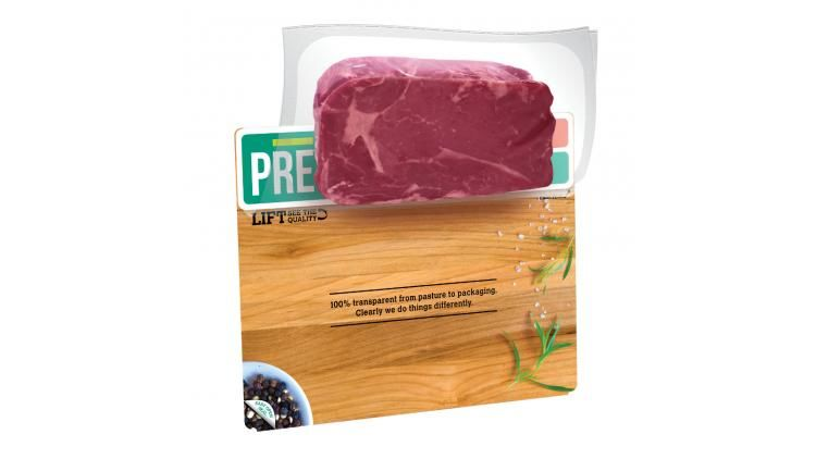 Flip-Up Meat Packages