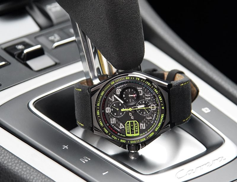 Vehicle Race-Inspired Timepieces