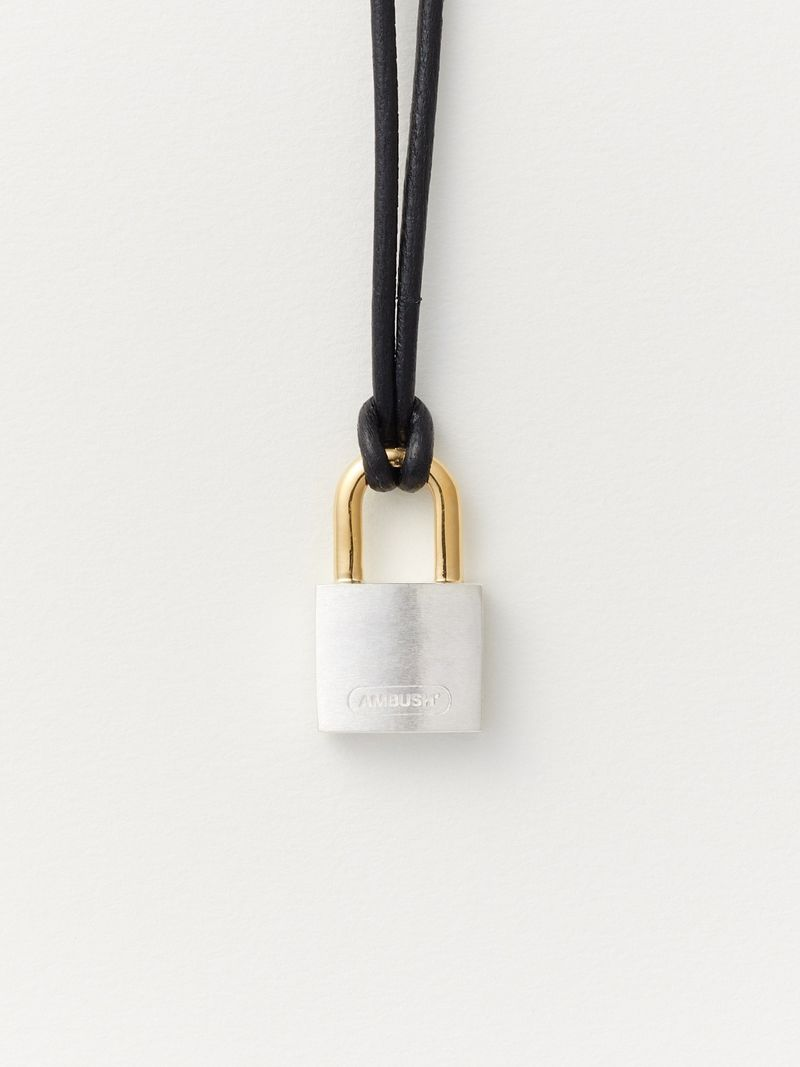 Designer Padlock Necklaces