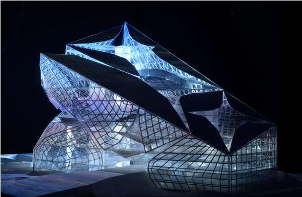 Acute Crystalline Architecture