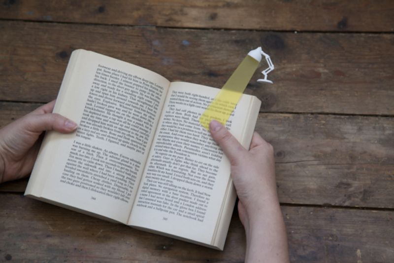Reading Lamp Bookmarks