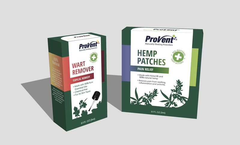 Hemp Pain Relief Patches
