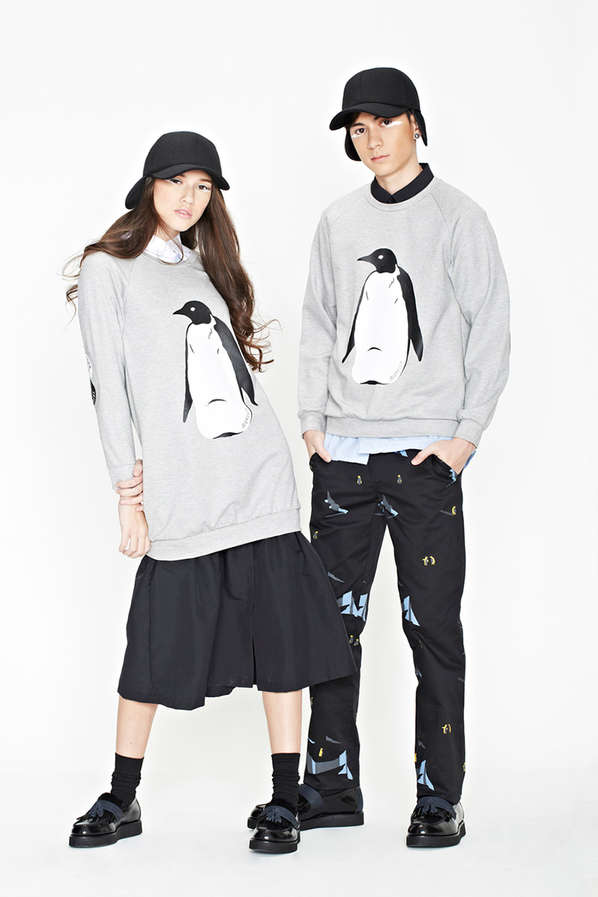 Sleek Arctic-Themed Streetwear