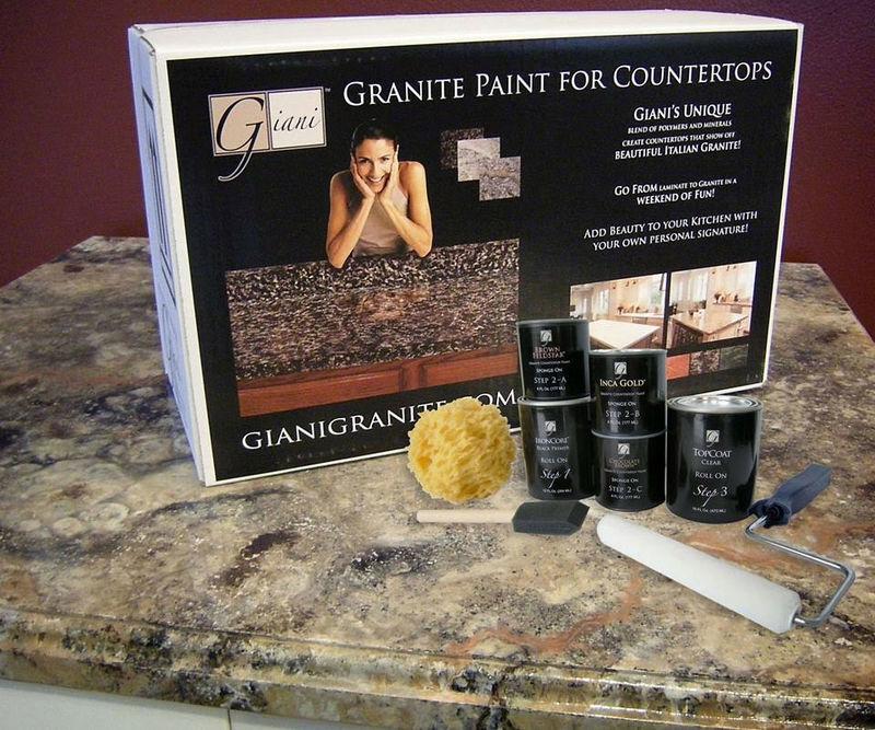 DIY Countertop Painting Kits : paint kit