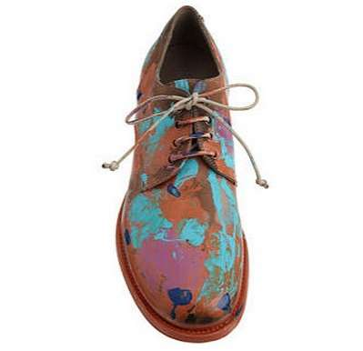 Paint Splattered Footwear