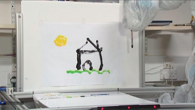 Canvas-Painting Robots