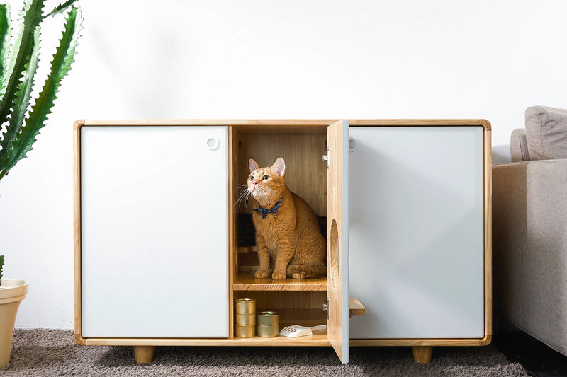 Functional All-in-One Pet Furniture
