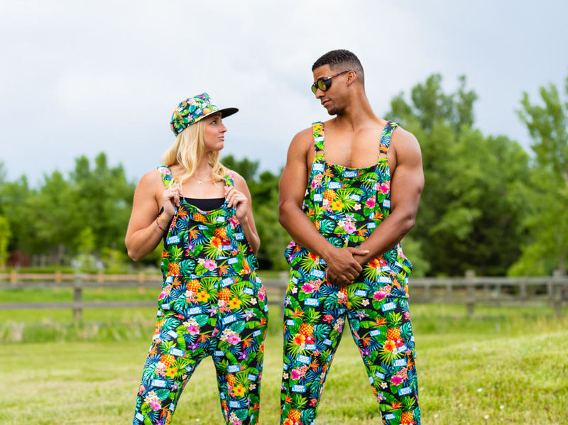 Branded Pajama Overalls - Bud Light's Pajameralls Were Created as a Comfortable Party Outfit (TrendHunter.com)
