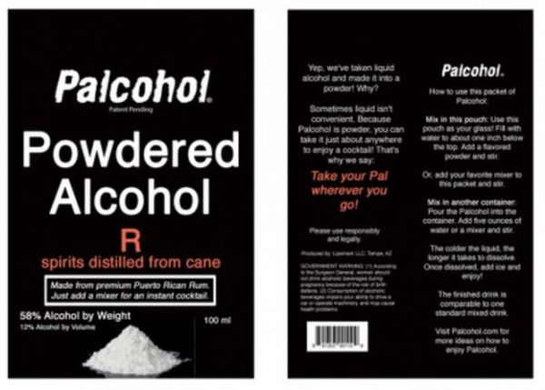 Powdered Alcoholic Drinks