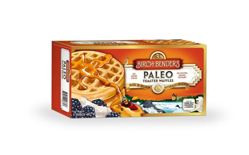 Frozen Paleo Waffles