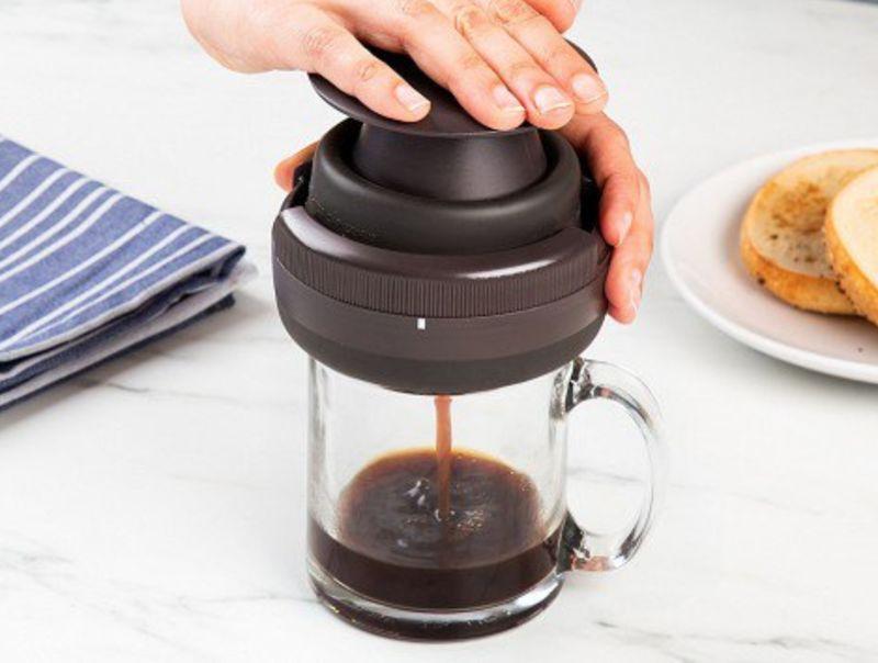 Manually Powered Coffee Makers Palmpress Single Serve