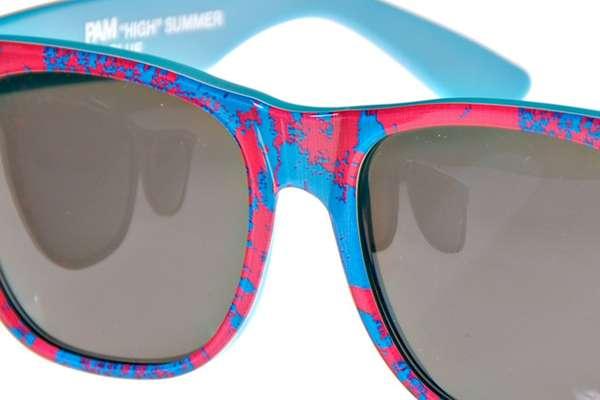 Neon Printed Eyewear