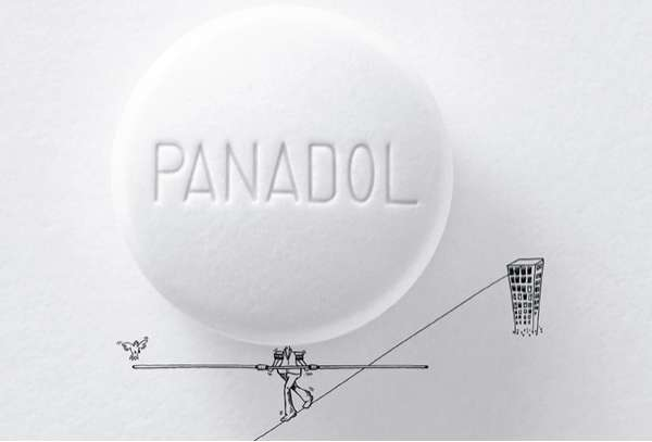 Pill-Head Print Ads