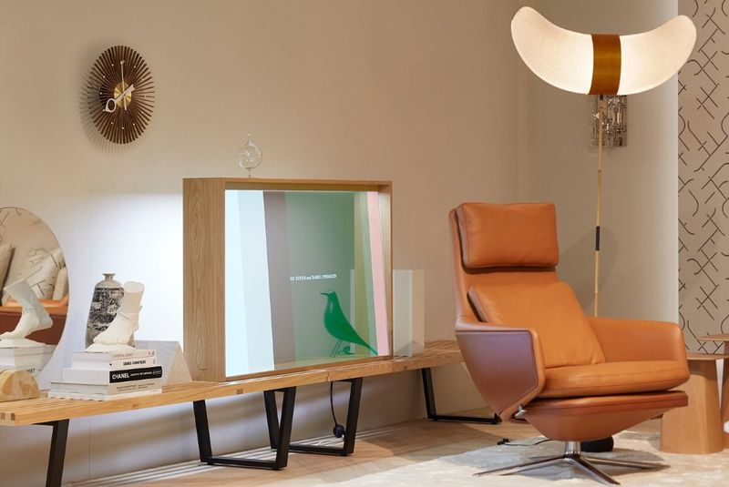 Artistic Transparent OLED Displays