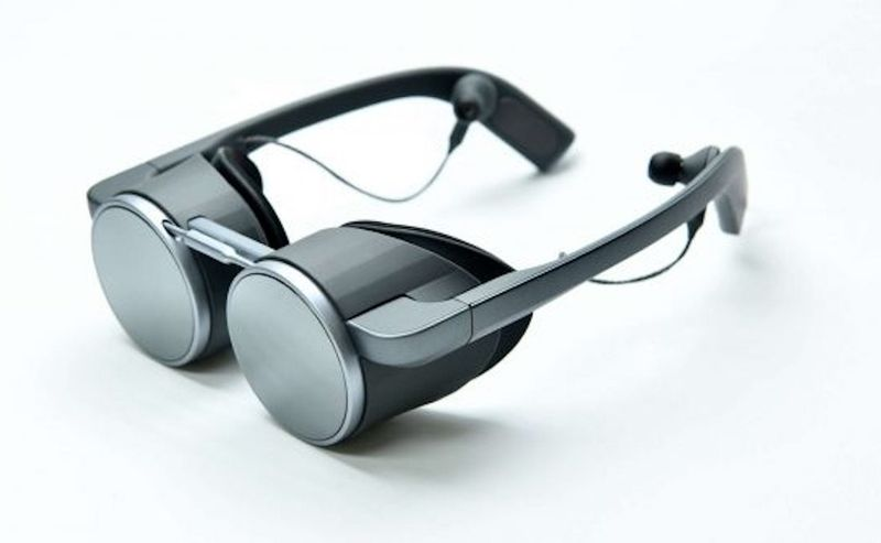Steampunk-Like VR Glasses