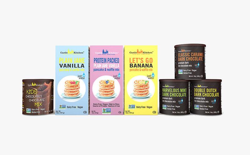 Plant Protein Pancake Mixes