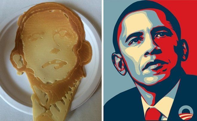 Presidental Pancake Portraits
