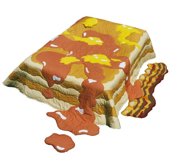Breakfast-Inspired Bedding