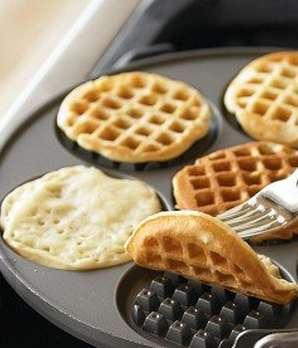 Waffle-Making Pancake Pans