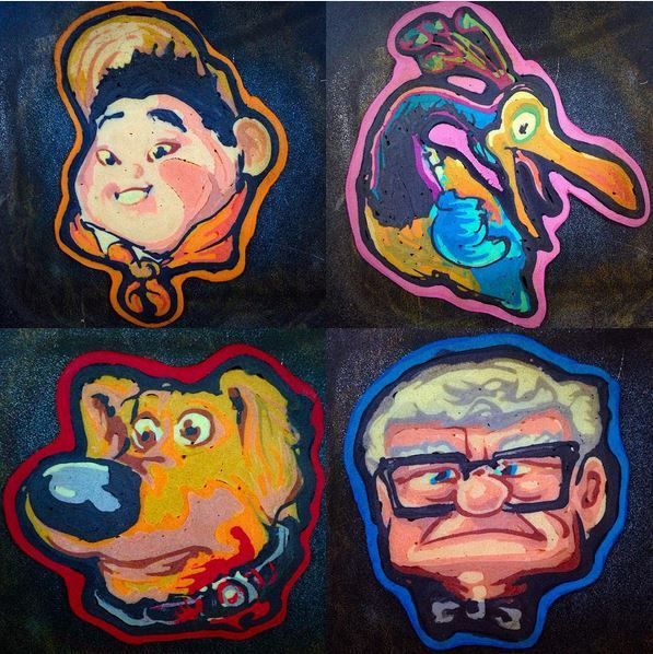 Intricate Pancake Portraits