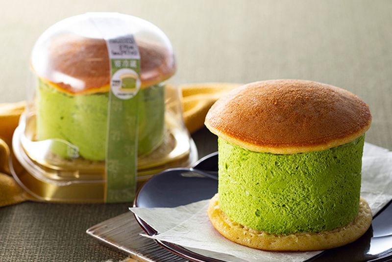 Matcha-Filled Pancake Sandwiches