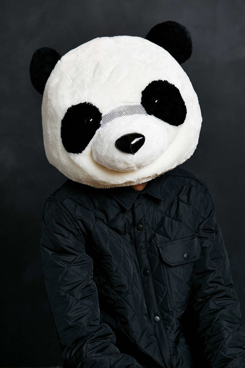 Plush Panda Masks