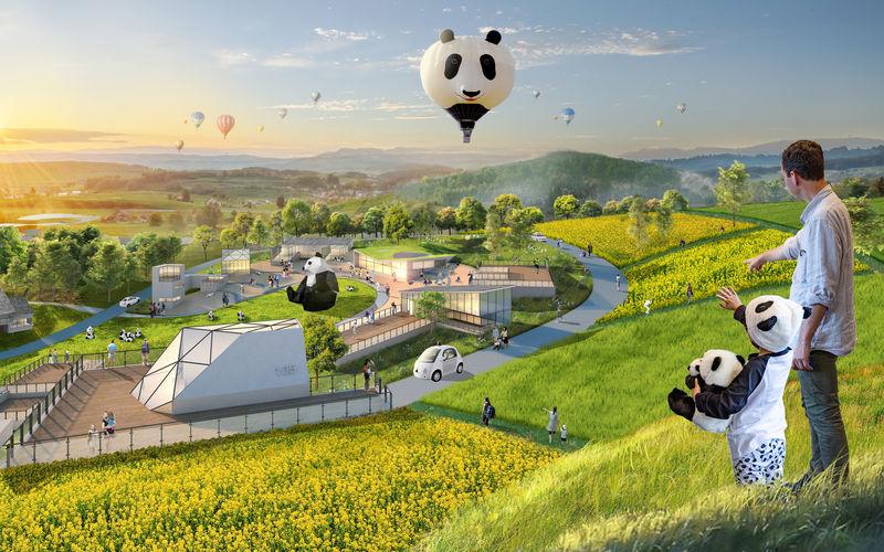 Conceptualized Panda Reserve Plans