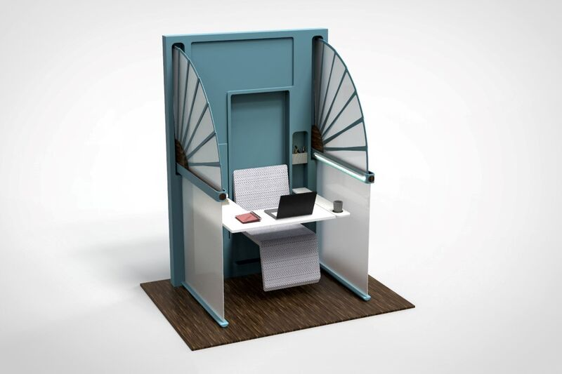 Foldable Self-Isolating Workstations