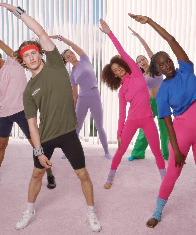 Sustainable 80s-Style Activewear