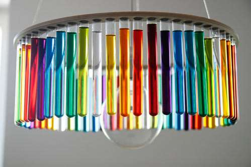 Experimental Test Tube Lights