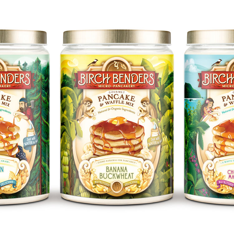 Tropical Pancake Mixes