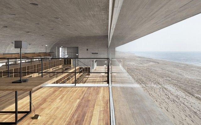 Panoramic Library Interiors