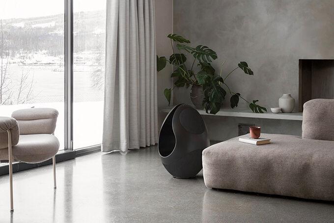 Opulent Egg-Shaped Speakers