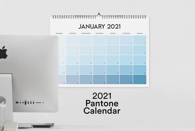Minimal Gradient Calendars