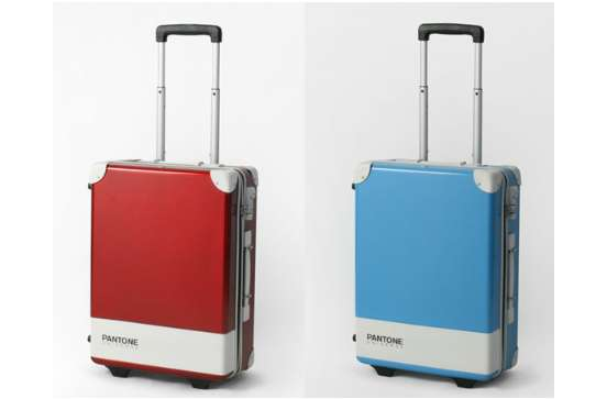 Paint Swatch Suitcases